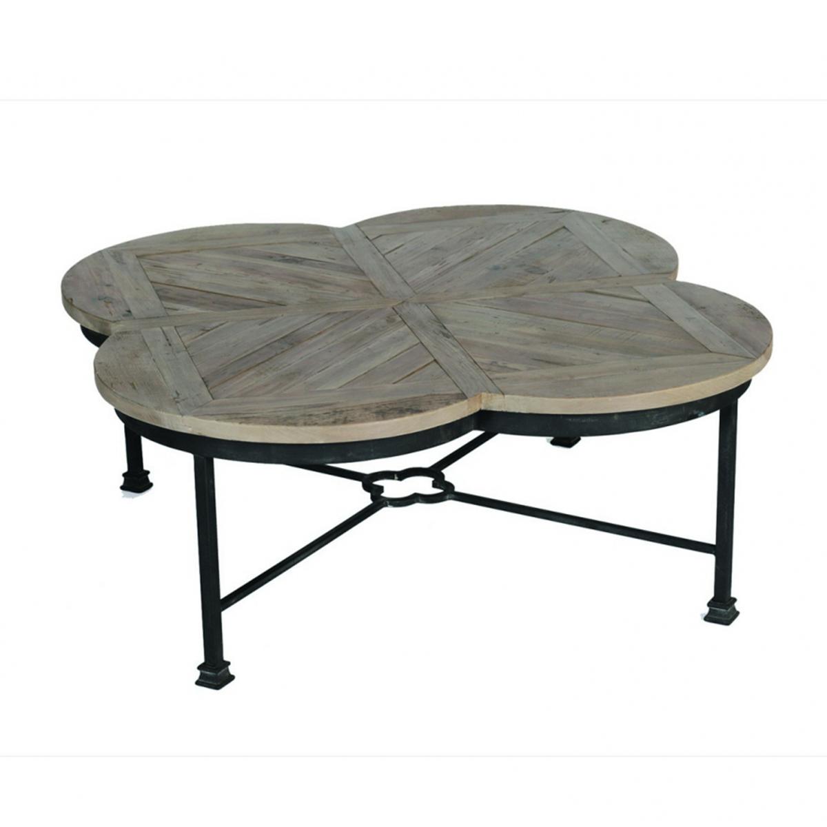 Edwin Quatrefoil Coffee Table