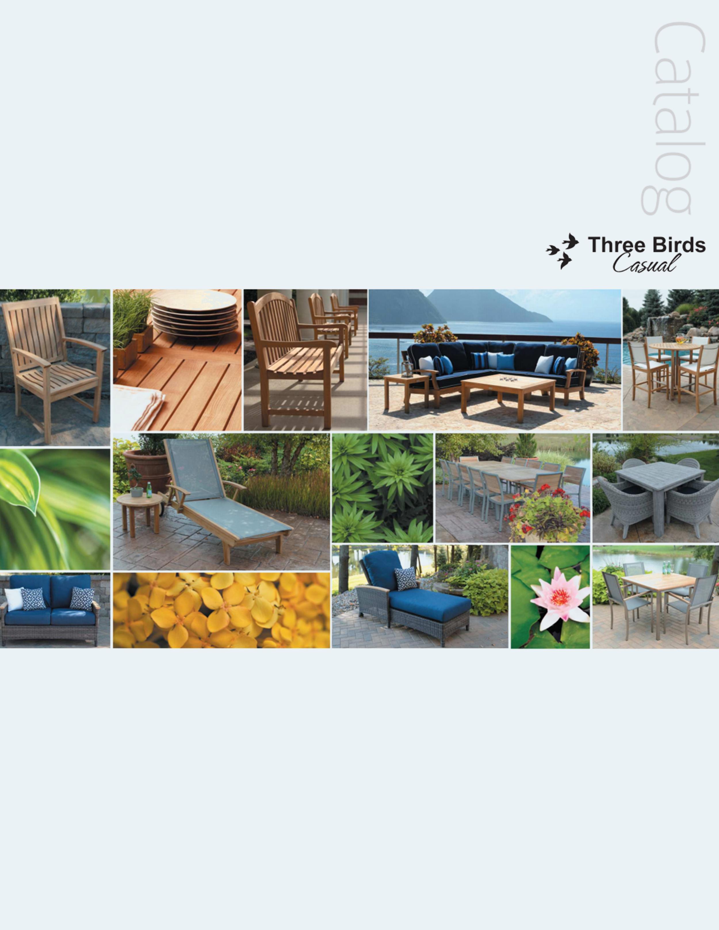 Downloadable PDF    Three Birds Casual Catalog on Steelyard