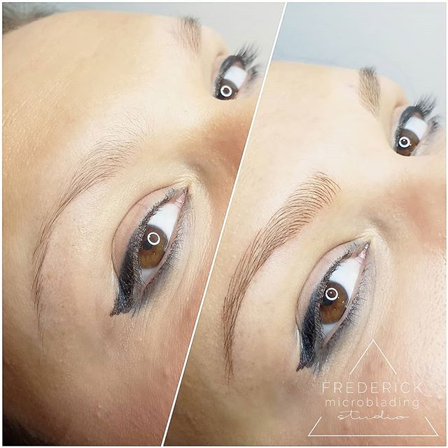 I hope everyone's Friday is as fabulous as these brows 🤩 #frederickmicrobladingstudio . . . . #microblading #frederick #downtownfrederick #eyebrows #frederickmicroblading #frederickmd #microbladingeyebrows #microbladingbrows #permanentmakeup #microbladingartist #micropigmentation #tattoo #pmu #brows #3dbrows #browsonfleek #eyebrowtattoo #semipermanentmakeup #eyebrowsonfleek #beauty #cosmetictattoo