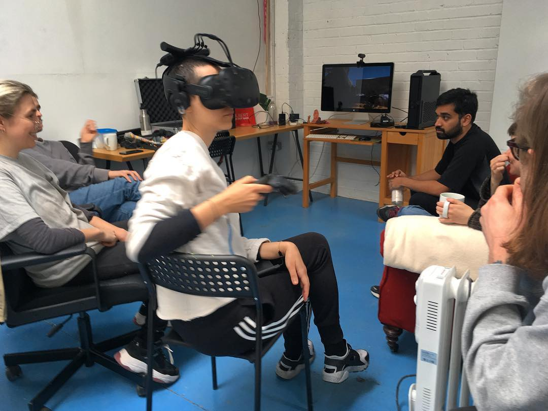 Conditions Associate Nikhil Vettukattil responds to the group VR work 'Satellite Studio', presented at the V&A Museum, April 2019