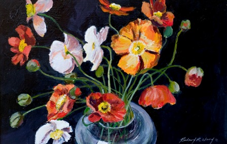 Poppies in Vase ll