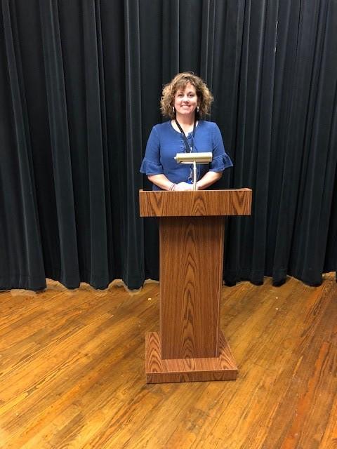 Podium with mic holder - Mrs. Maxwell.jpg