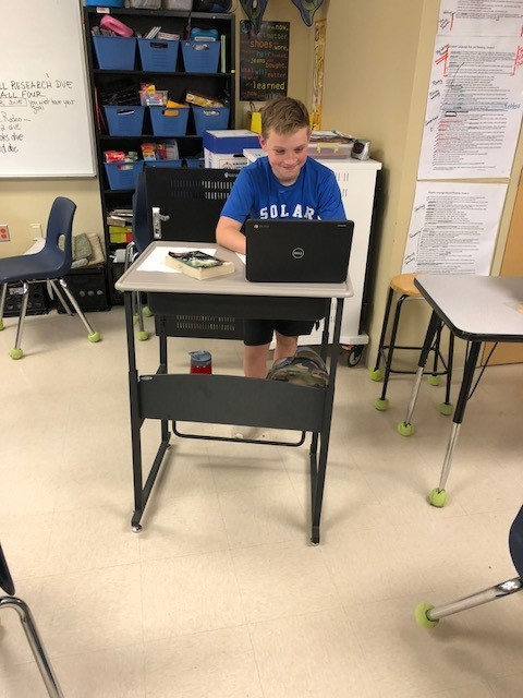 Standing student desk in Mrs. Day's class.jpg