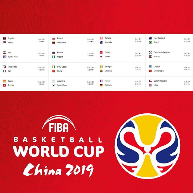 🏀 The FIBA Basketball World Cup starts this weekend!! 🏀 . 🇺🇸 Can the U.S. still win despite many players sitting out❓ . . . . #fiba #usa #hoops #fibaworldcup #basketball #dreamteam #nike #usabasketball #worldcup #china #ballislife #swoosh #threepointer #freethrow #china2019 #worldcup2019 #espn #wmba #mba #fowlshot #baller #buckets #fibabasketball #fibaworldcup #international #gameday #nosleeps #gametime #referee #goteam
