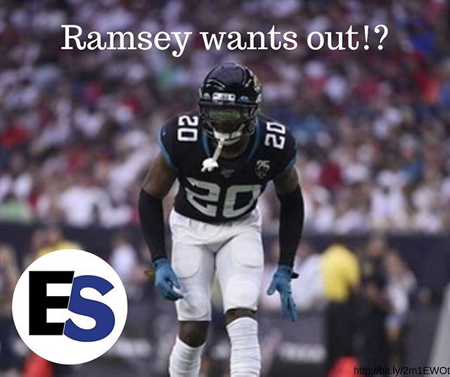 Jaguars corner-back Jalen Ramsey has requested a trade after disputes with coaches! . What team should trade for Ramsey?? . . . .  #football #nflnews #nfl #traderumors #trade #jaguars #gridiron #athlete #cornerback #defense #ballislife #fridaynightlights #fridayfootball #kickoff #quarterbacck #pigskin #Ramsey #nfltrade #contract #contractdispute