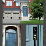 Contemporary Executive Panel Door with Complimentary Garage Doors.png