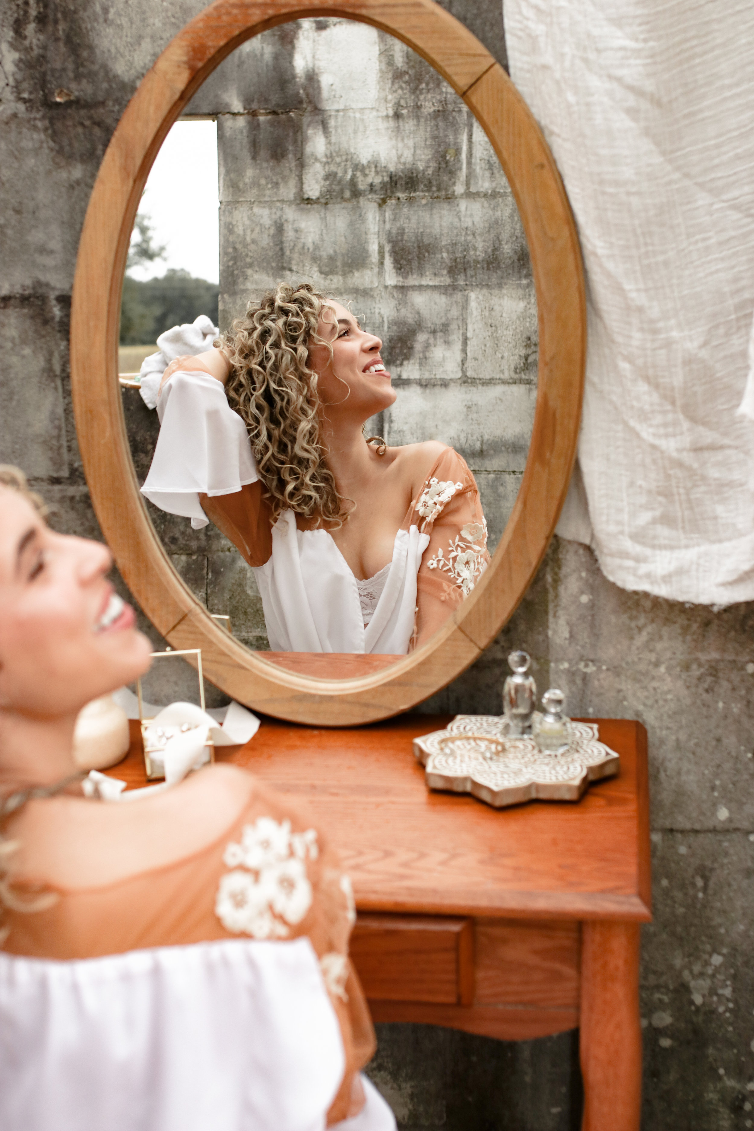 Bridal Portraits #thegatheredgals Styled Shoot