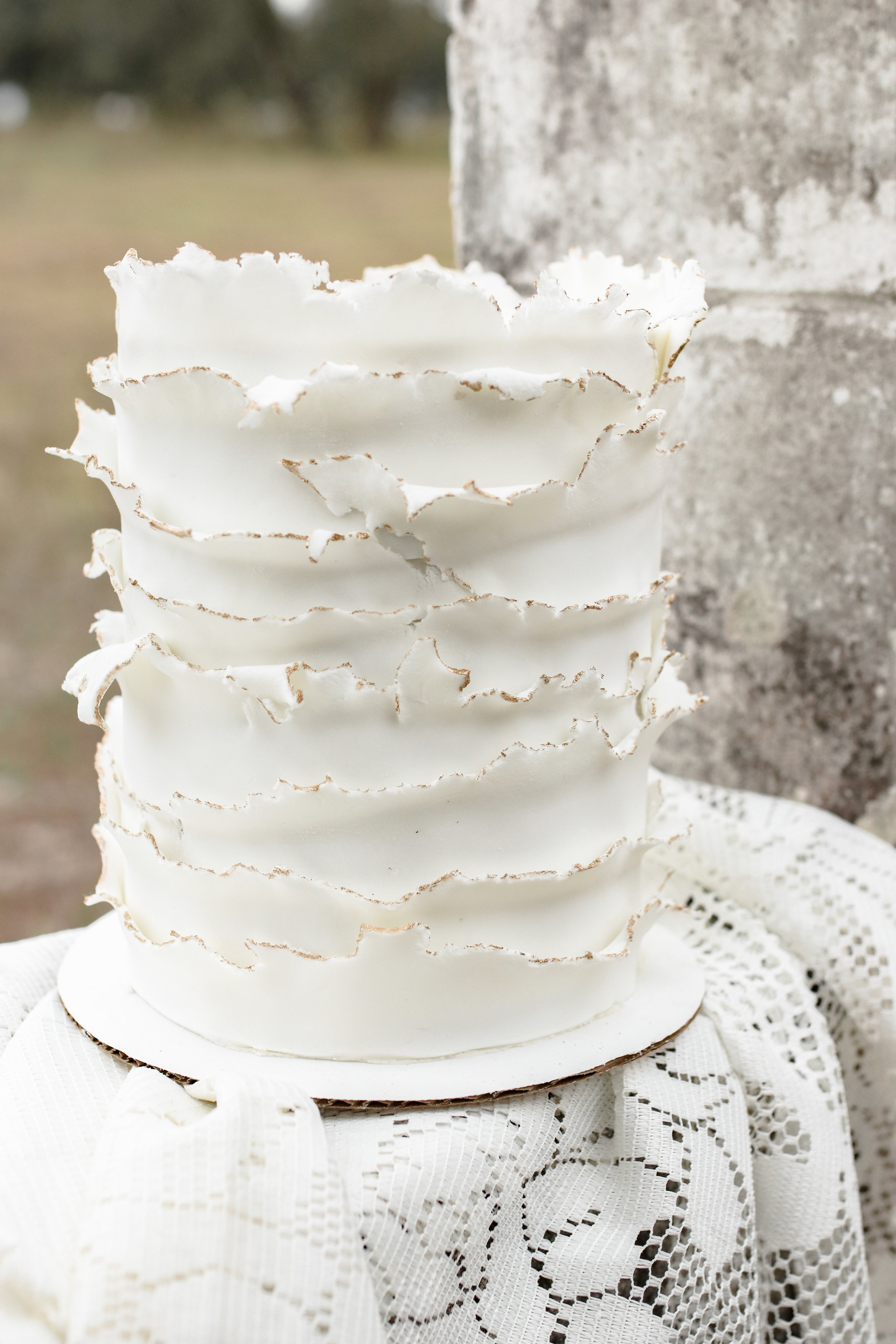 Ruffle Cake | The Sugared Oven | #thegatheredgals | Styled Shoot