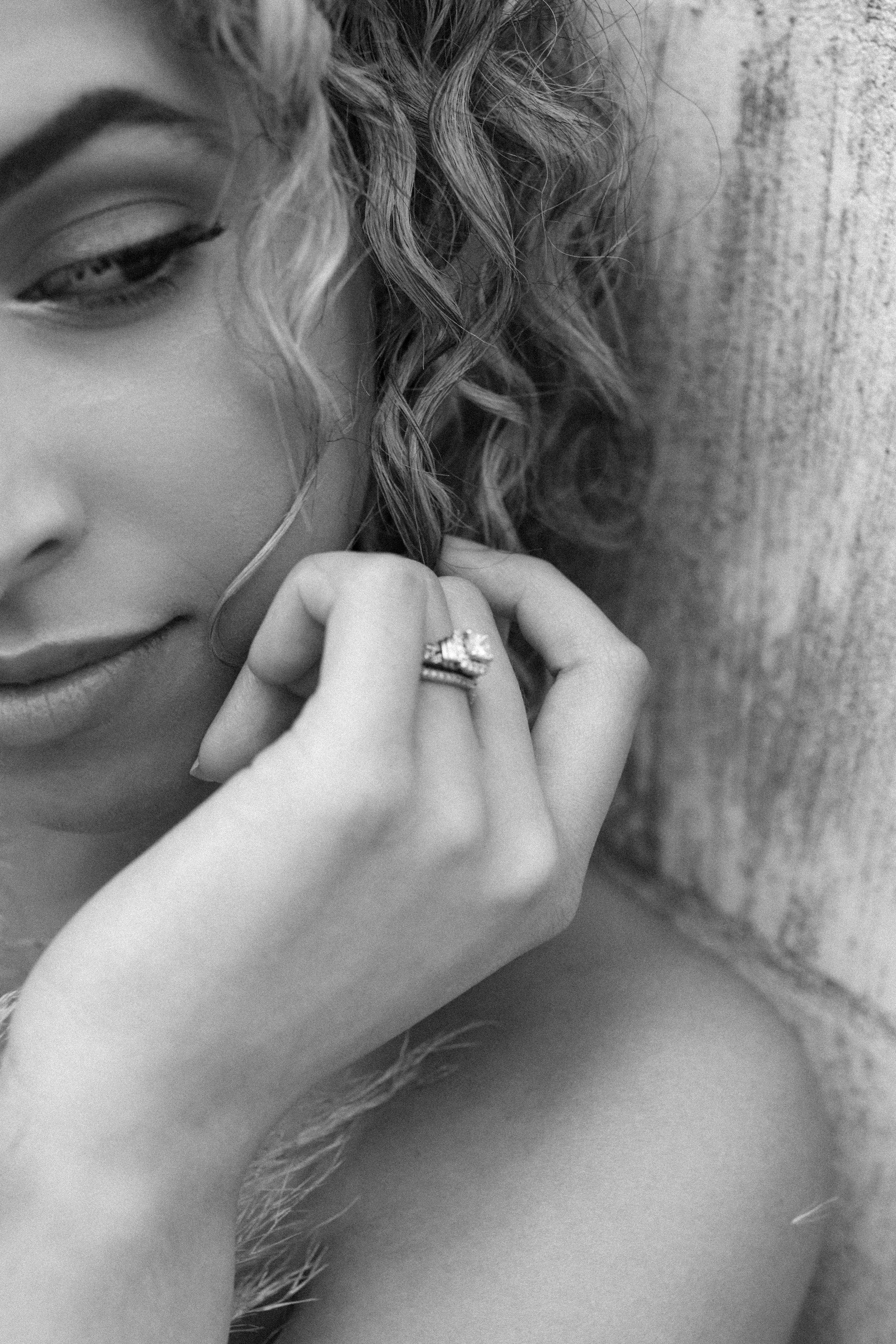 Bridal Get-Ready | Bridal Portraits | #thegatheredgals | Styled Shoot