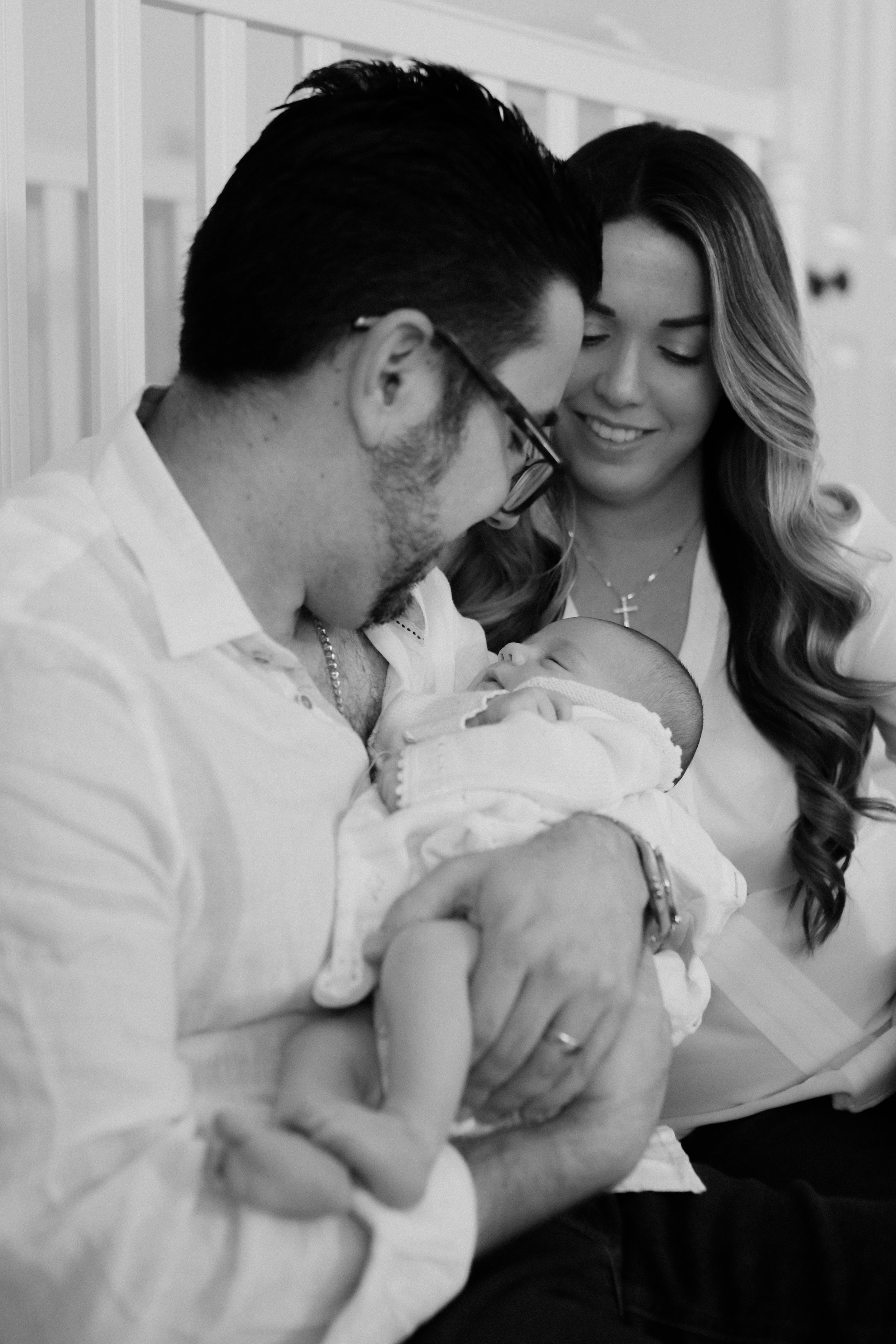 Lifestyle Newborn Family Session | Central Florida Photographer | Melanie Zentmeyer