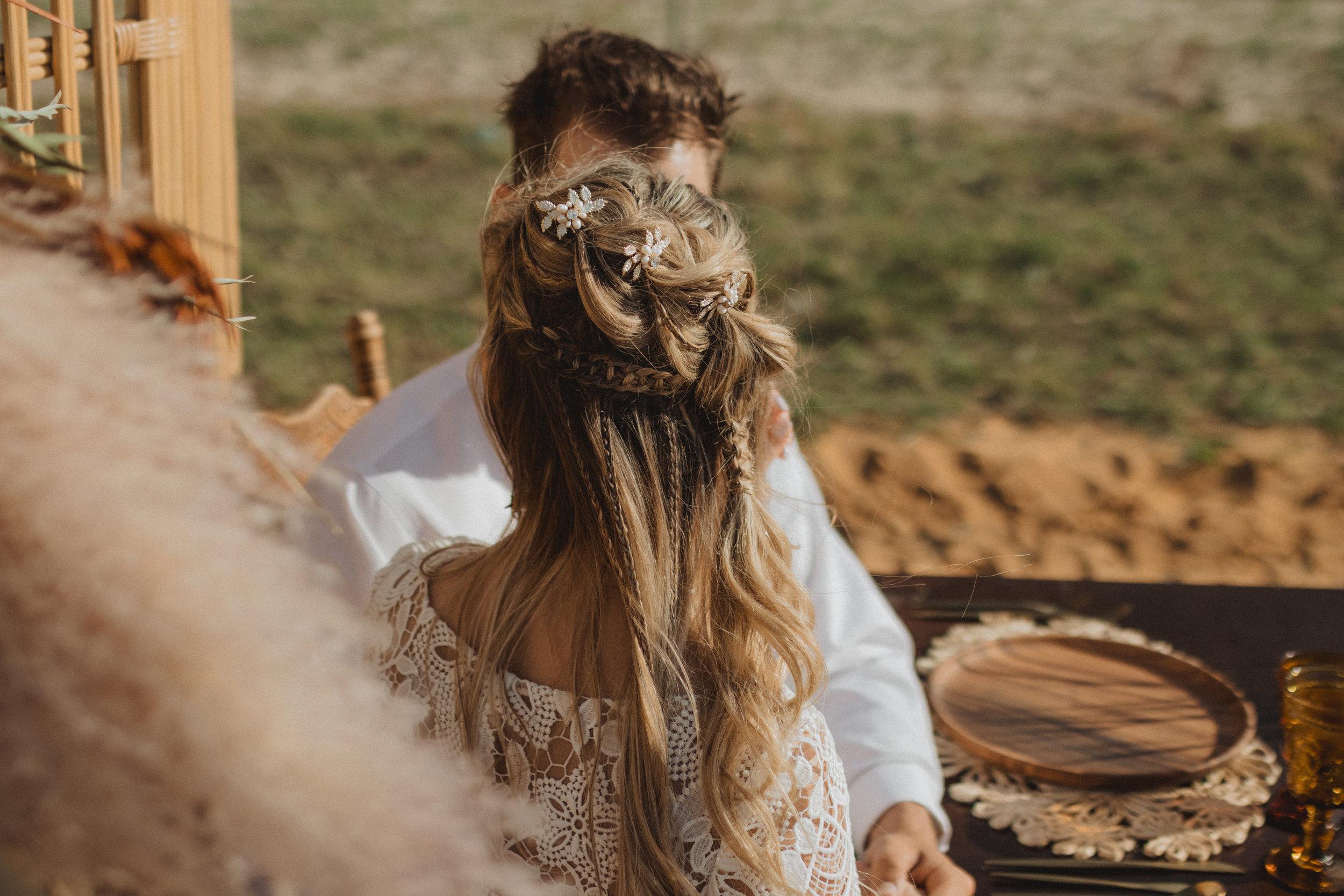 Boho Bridal Hairstyles   Boho Braid