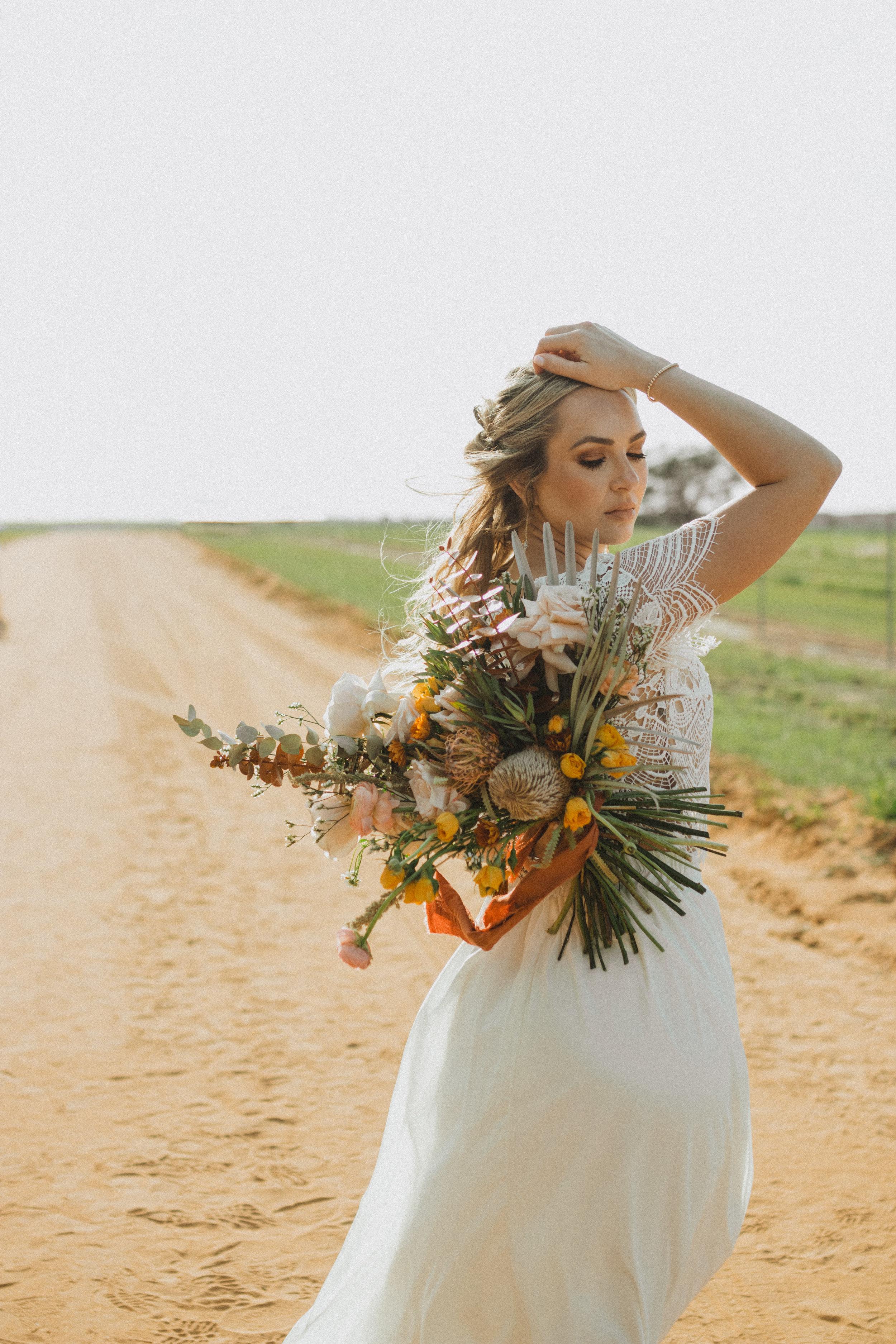 Gypsy Bride Boho Florals