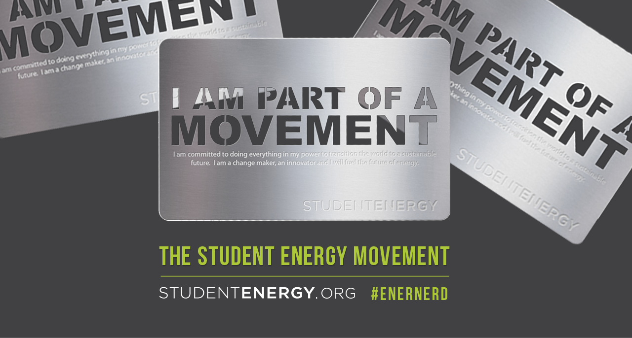 about us - Student Energy is a global charity building the next generation of energy leaders who will accelerate the world's transition to a sustainable energy future.
