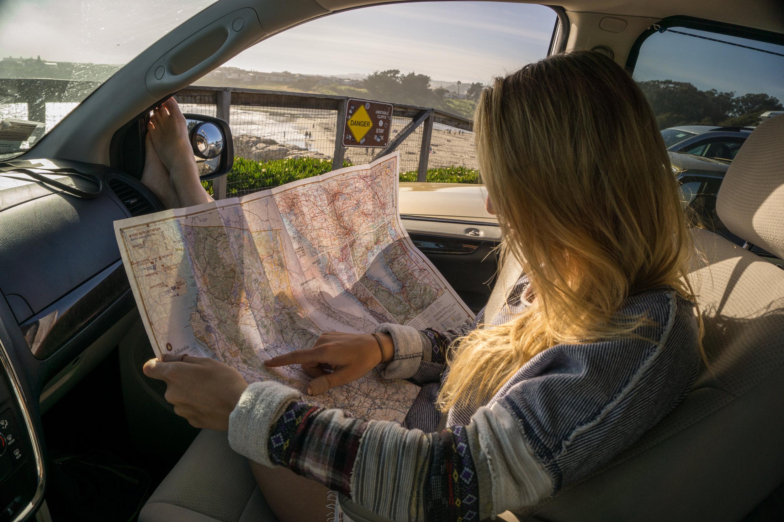 Kendall in van with Map.jpg