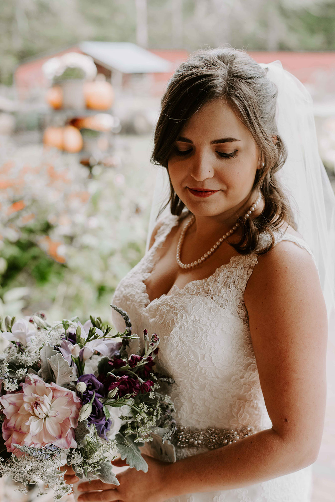 New Hampshire wedding photographer for a boho and intimate New Hampshire bride at Stonewall Farm, Keene, NH
