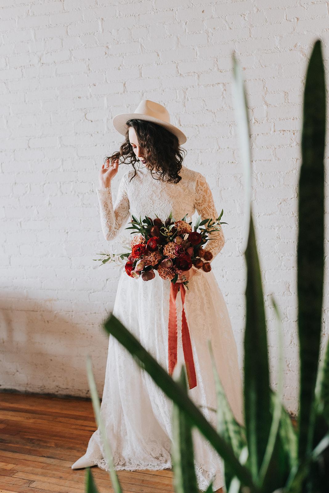 La-Brasa-somerville-intimate-boho-wedding-Boston-elopement