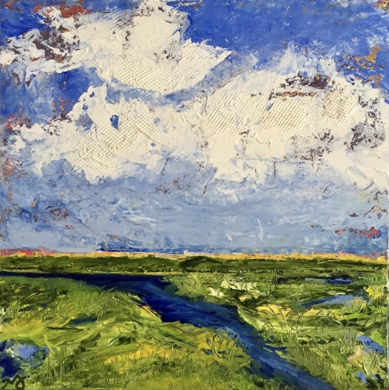 Marshland | oil on canvas | 12 x 12 inches | SOLD