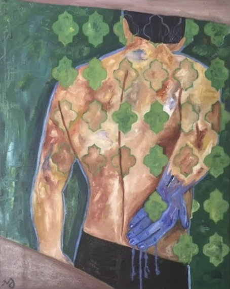 torso | oil on canvas | 26 x 32.5 inches | SOLD