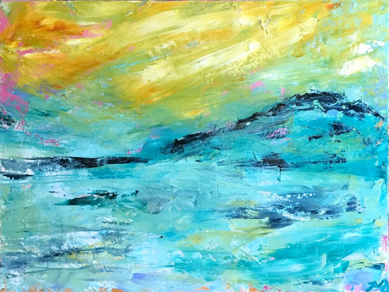 Sea Breeze | oil on canvas | 18 x 24 inches | SOLD