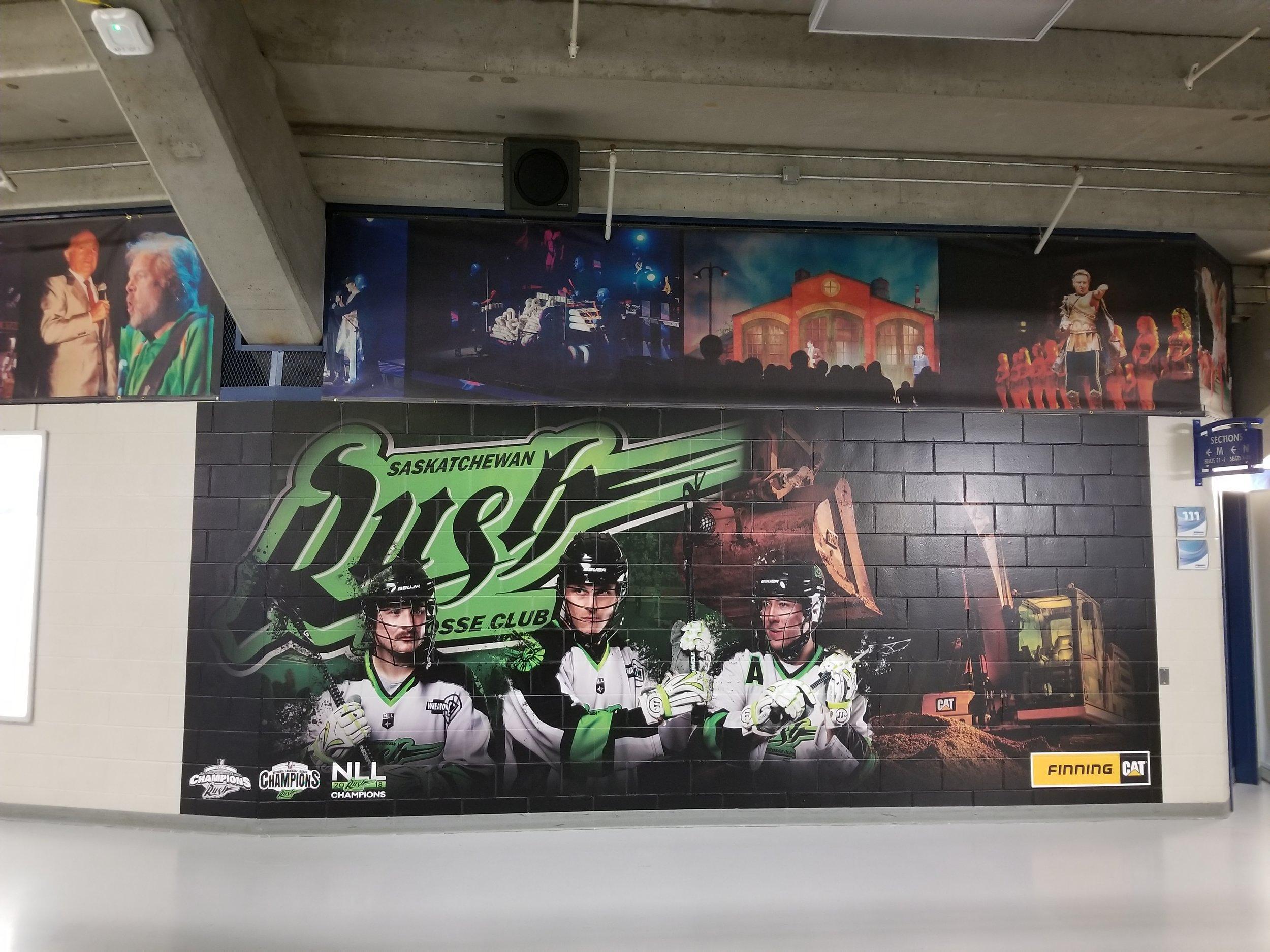 Saskatchewan Rush, Sasktel Centre Saskatoon