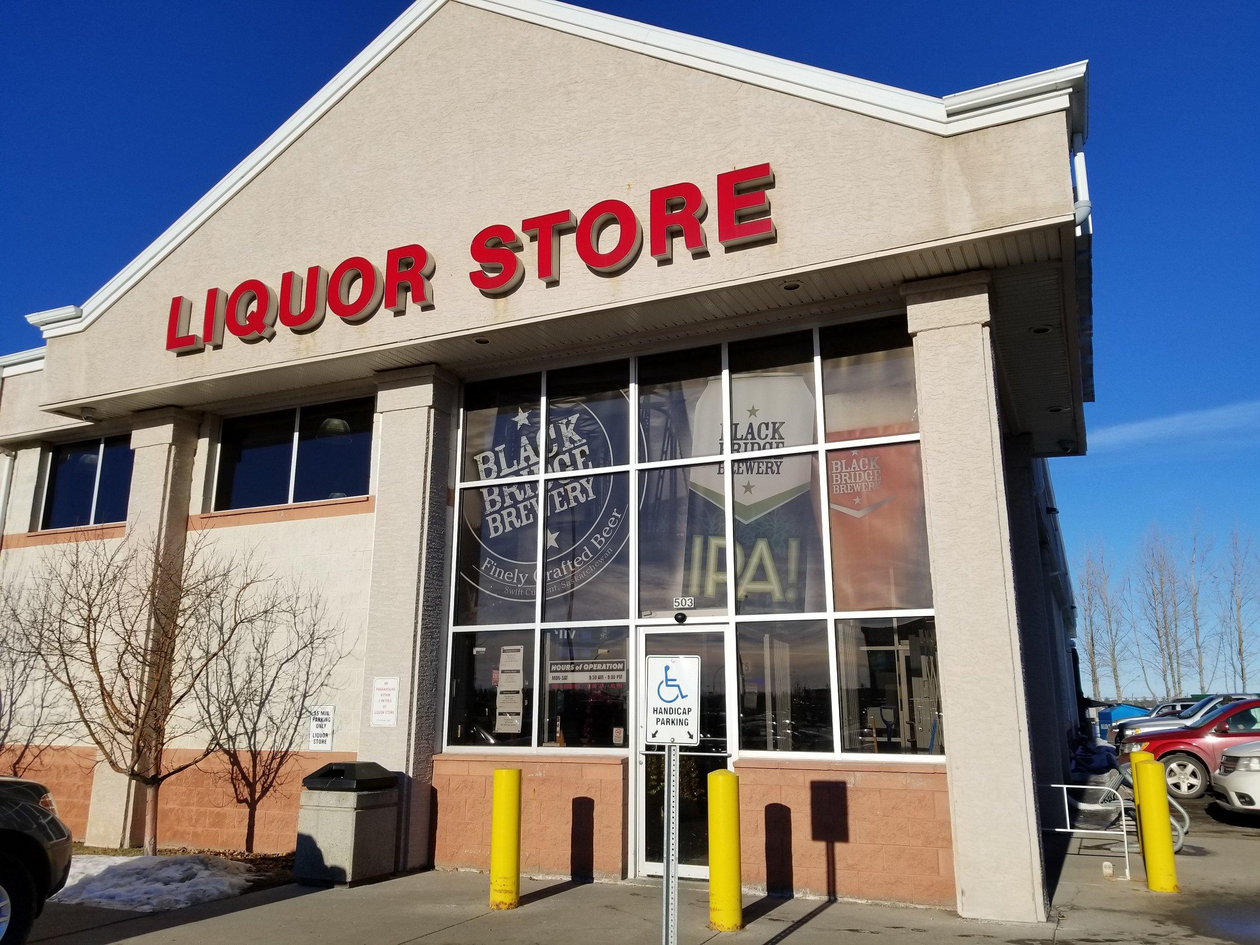 Liquor Board Store, University Heights Saskatoon