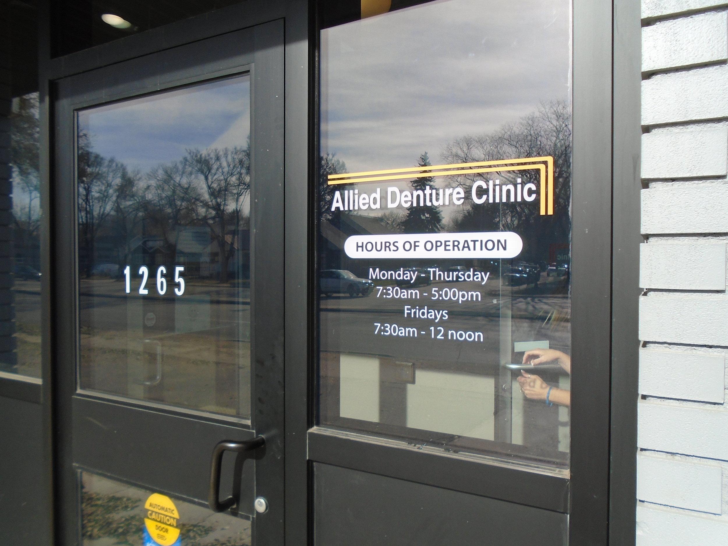 Allied Denture Clinic, Saskatoon