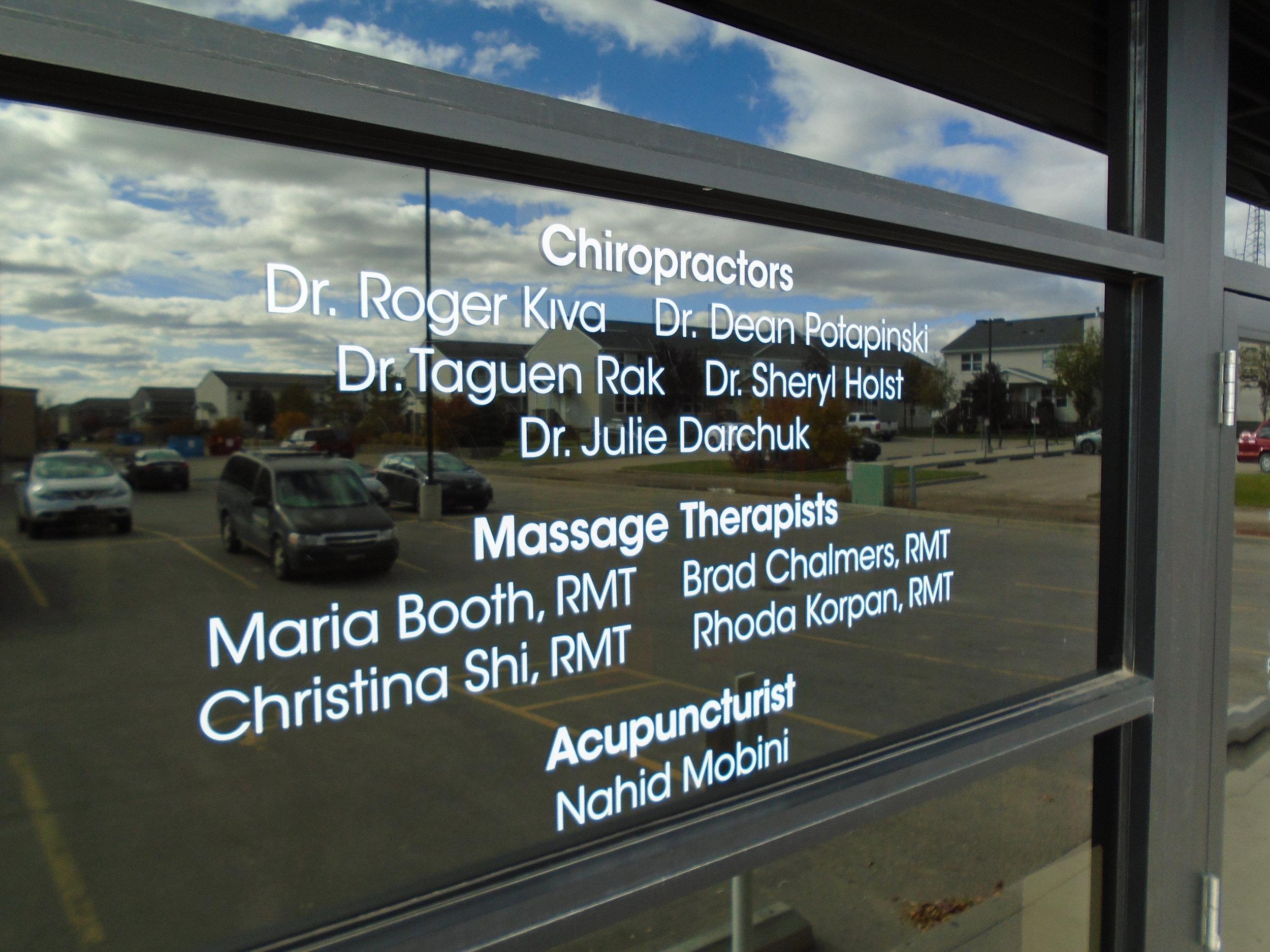 Confederation Chiropractic, Saskatoon
