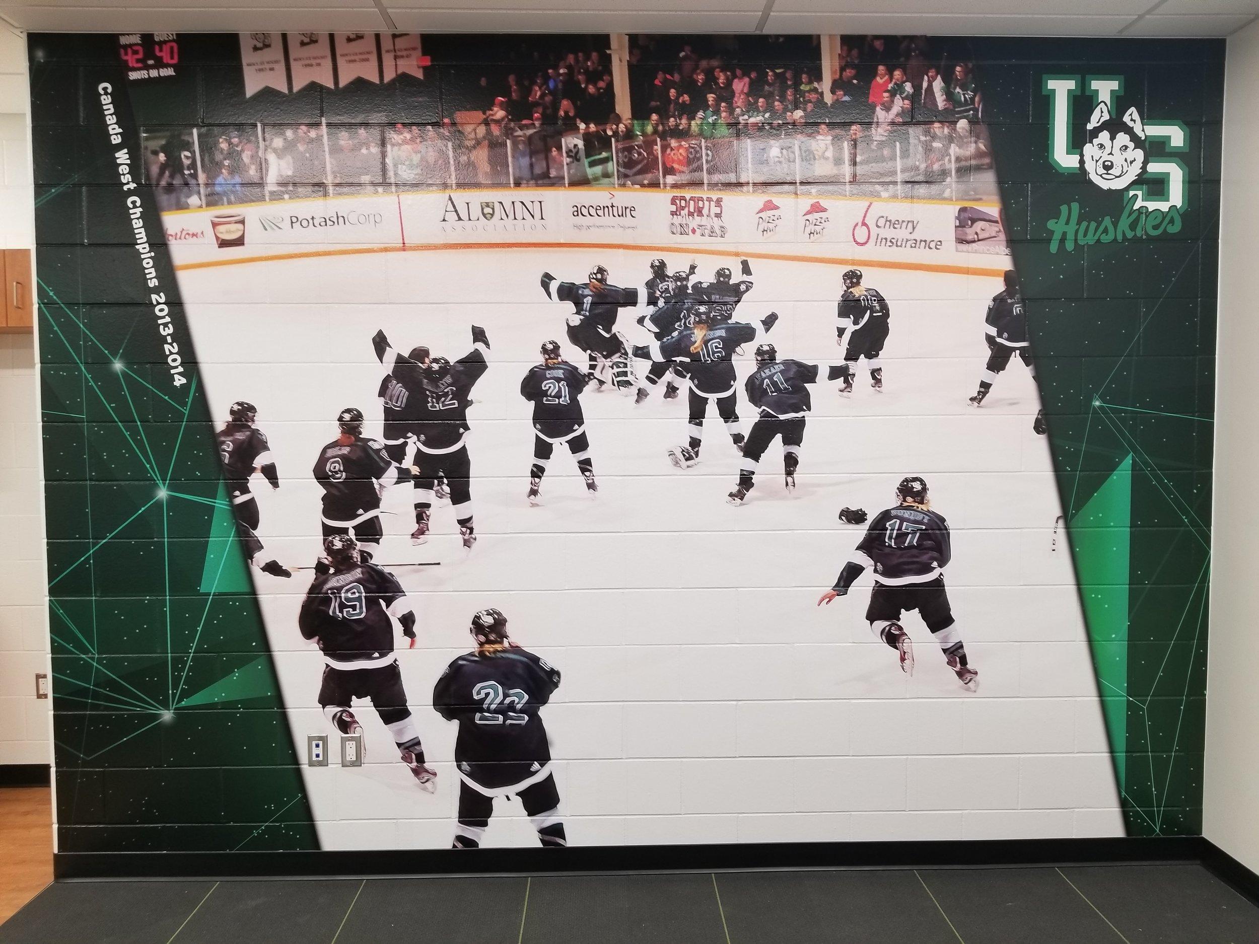 Women's Huskie Hockey, Saskatoon