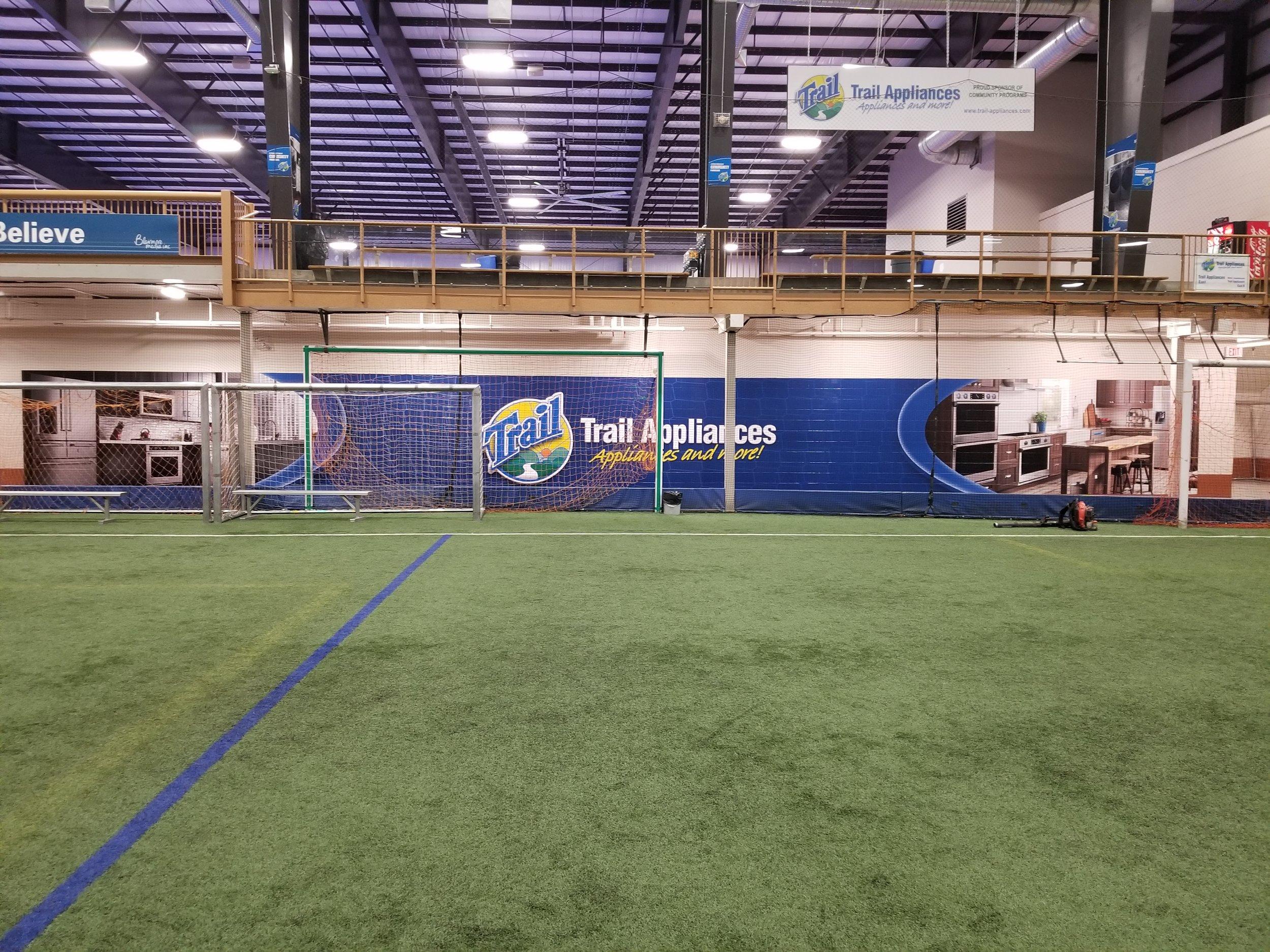 Trail Appliances, Sasktel Soccer Centre