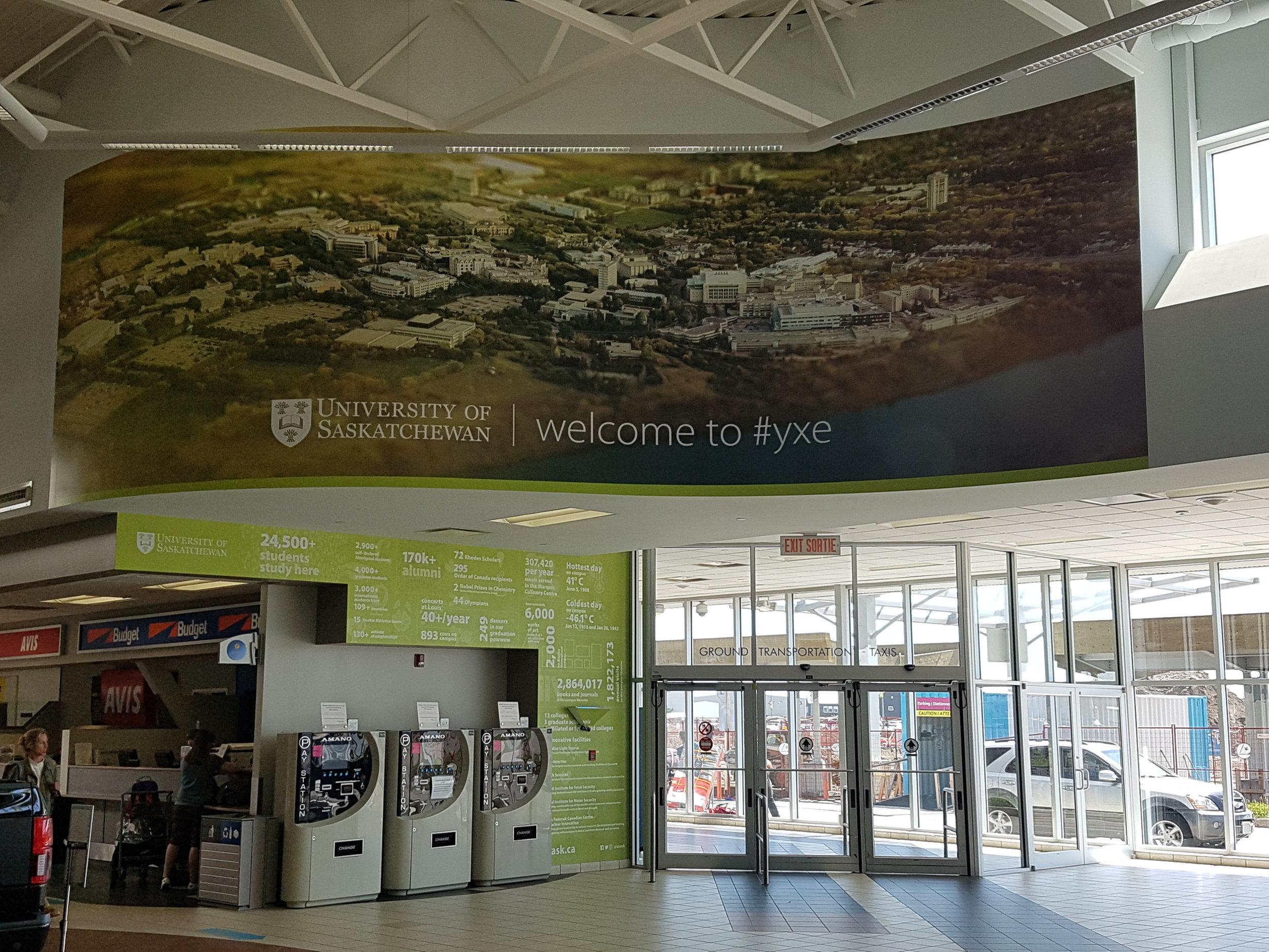 University of Saskatchewan, SKYXE Airport Saskatoon