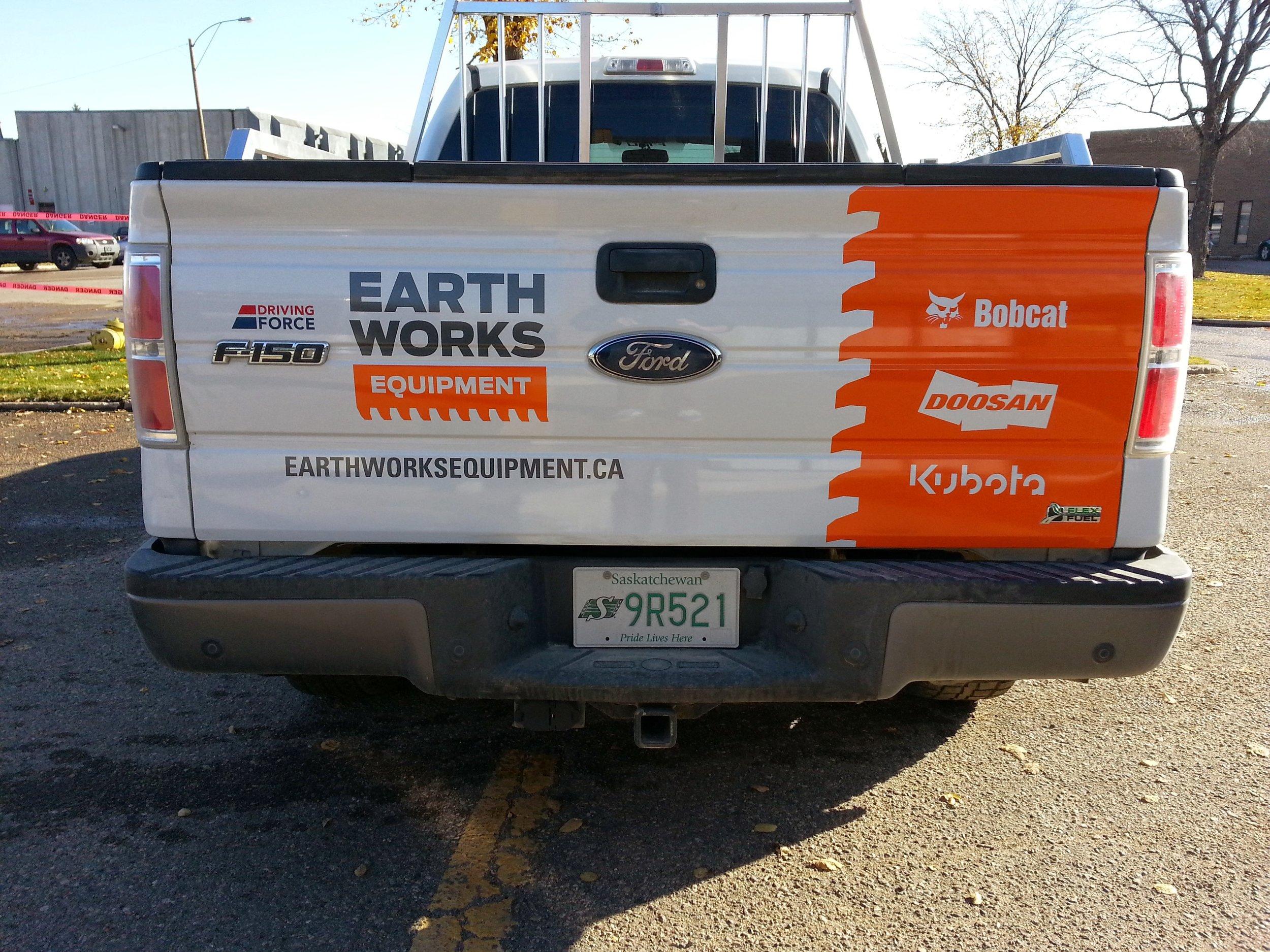 Earth Works Equipment, Saskatoon