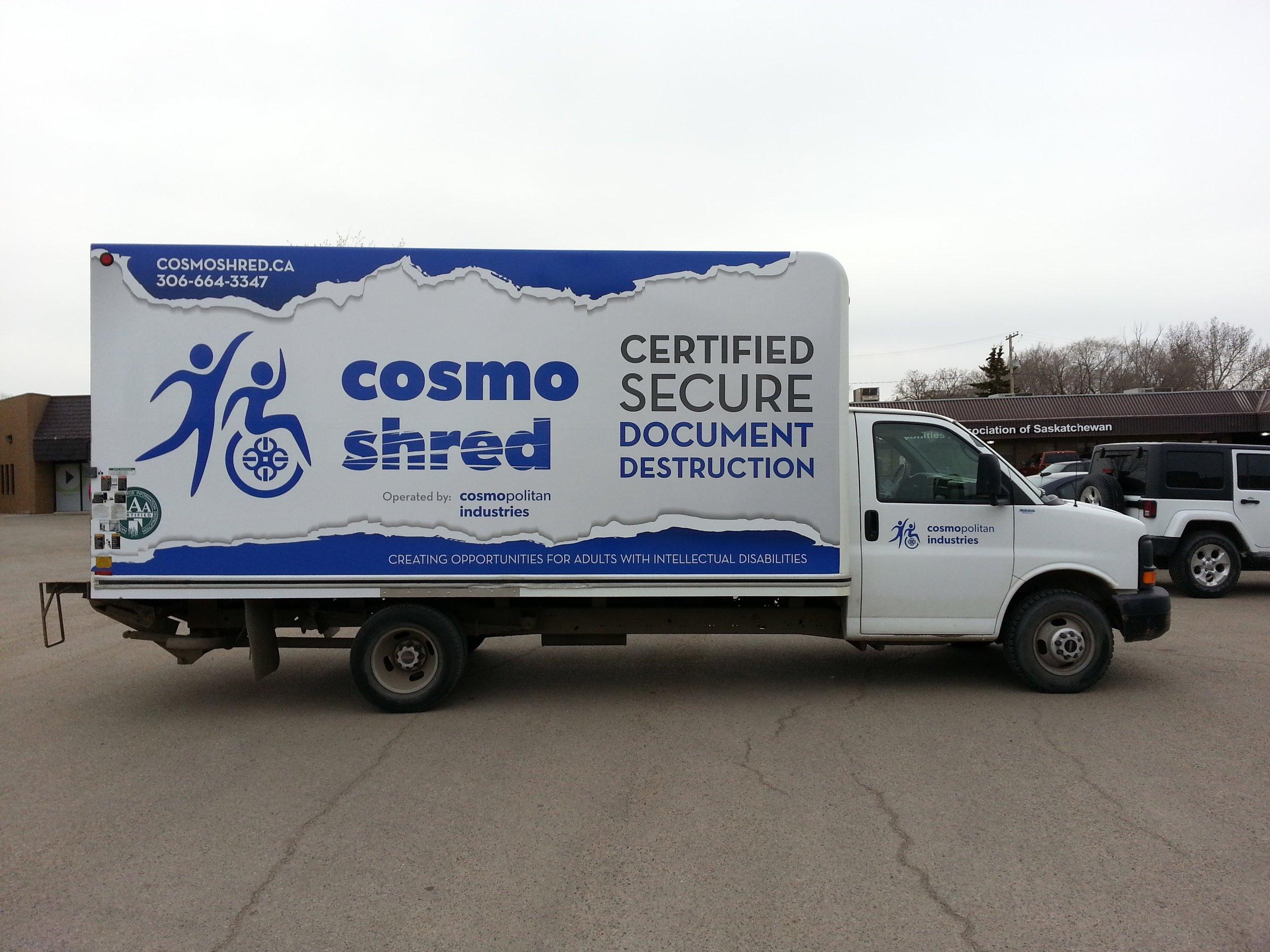 Cosmo Shred, Saskatoon