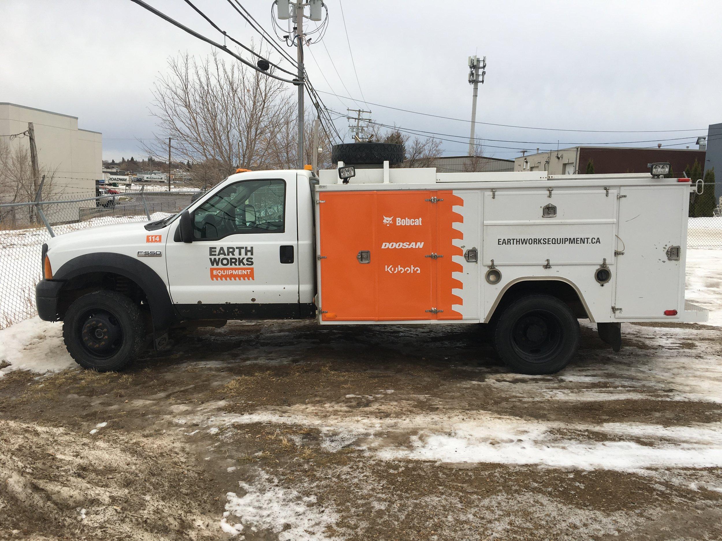 Earthworks Equipment, Saskatoon