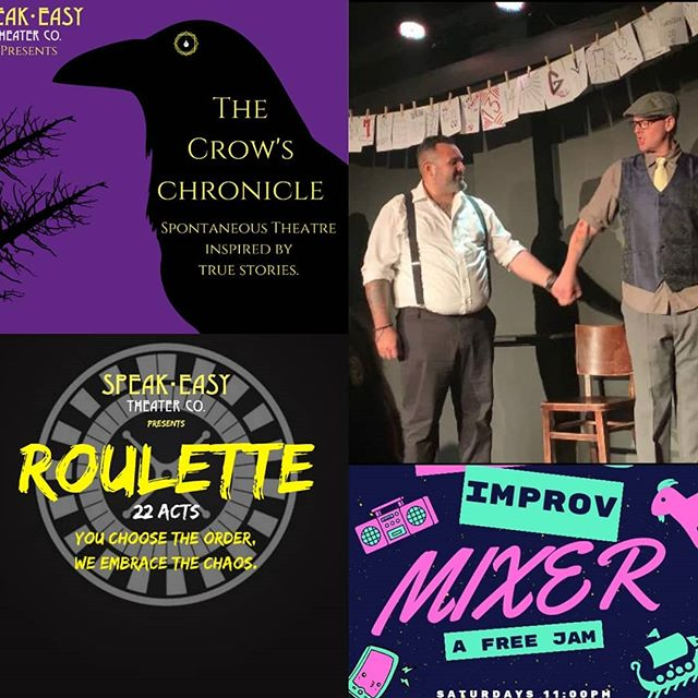 Tonight!  We have 3 amazing events at our hidden theater on North Beach and the only Chicago style theater in Miami:  8:00pm The Crow's Chronicle: Spontaneous Theater Inspired By True Stories  9:30pm Roulette: 22 Acts of Spontaneous and  Scripted Theater with the order chosen by you!  11:00pm The Improv Mixer: Now you get on stage! Free!  Tickets And Registration Link in bio!  2 for 1 tickets with a Student ID from any college or high school.  September Birthdays get in FREE with ID.  10% off Full bar and Kitchen by @taquizatacos with your ticket.  Follow our cast and collaborators: @melxjz @oyemichellinaa @ozmanq @Immonicalynne @calimoss305 @rebeckster11 @Sofly_Sofia @unitedstatesofsuki @wordnerdsteph @swaymolina @imjessdoinme @taquizatacos @alby.dominguez @andersunlight @caseyroots @hepburnablaze @jasonjohnsmith530 @jqnow @jjfilsma @nigambit @marinainaminute @commonthreadentertainment @thegreenagency @nakedangelsmiami -----------------------------------------------------------------