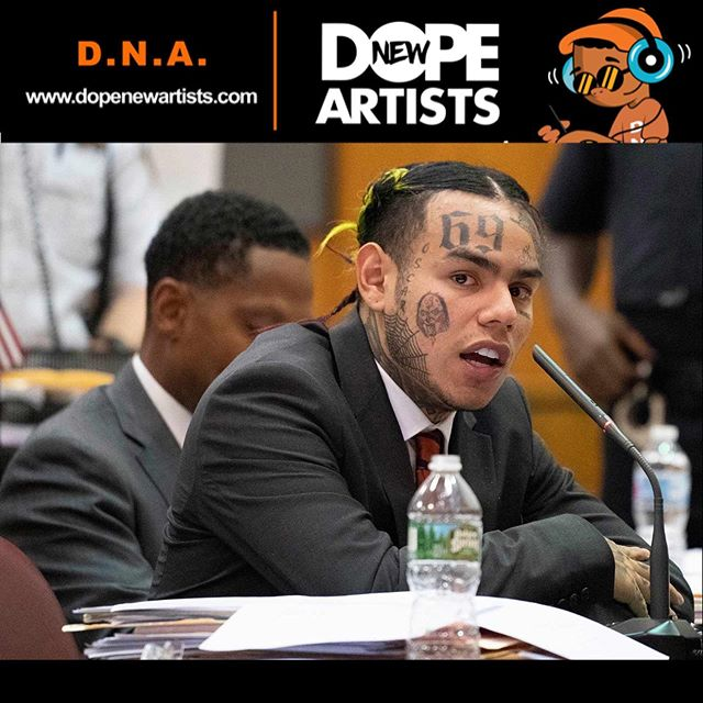 """6ix9inehasstarted histestimony against his one-time gang associates Anthony """"Harv"""" Ellison and Aljermiah """"Nuke"""" Mack, and during it, he reportedly mentioned Trippie Redd, a former collaborator-turned-rival. ————————————————————— According to reporter Matthew Russell Lee, who is live-tweeting from the courtroom at Manhattan's Thurgood Marshall United States Courthouse, 6ix9ine alleged that Trippie was once a member of a gang. ————————————————————— Tekashi also pointed fingers at former """"faux-manager"""" Shotti and claimed he, himself, was never an actual member of the Nine Trey Bloods. According to 6ix9ine his only involvement with the gang was providing financial support in return for street cred. ————————————————————— Follow Matthew Russell Lee on Twitter @InnerCityPress for live updates throughout the trial. • • • #DNA #DopeNewArtists #DopePeopleMeet #tekashi69 #Tekashi #6ix9ine #TekashiTrial #TekashiSnitch #NewMusic #MusicNews #RnB #ATL #LA #NYC #Chicago #Detroit #Broward #Miami #Philly #DC #Houston #Charlotte #Houston #Louisville"""