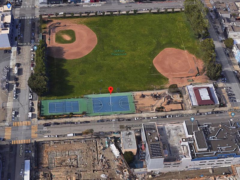 Jackson Playground - 1594 Mariposa StreetSan Francisco, CA 94107