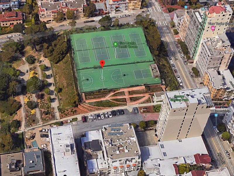 George Sterling Park - 2299 Hyde StreetSan Francisco, CA 94109