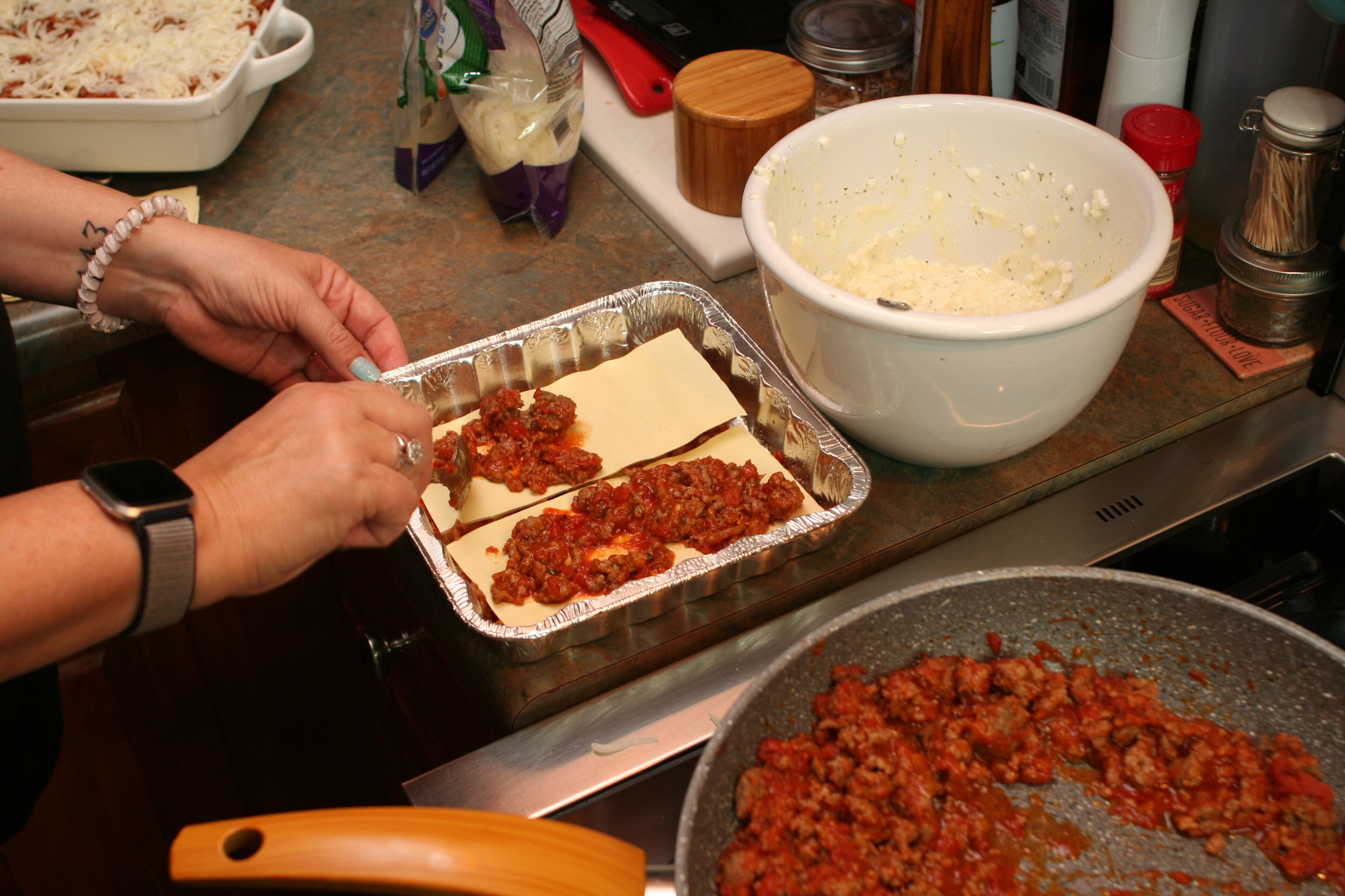 Homemade Turkey Lasagna