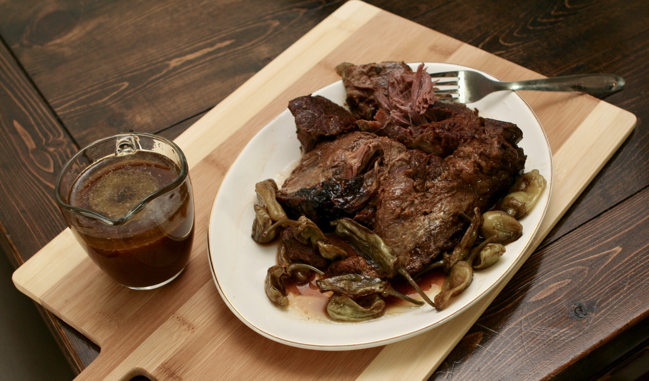 The Buttered Home's Mississippi Roast