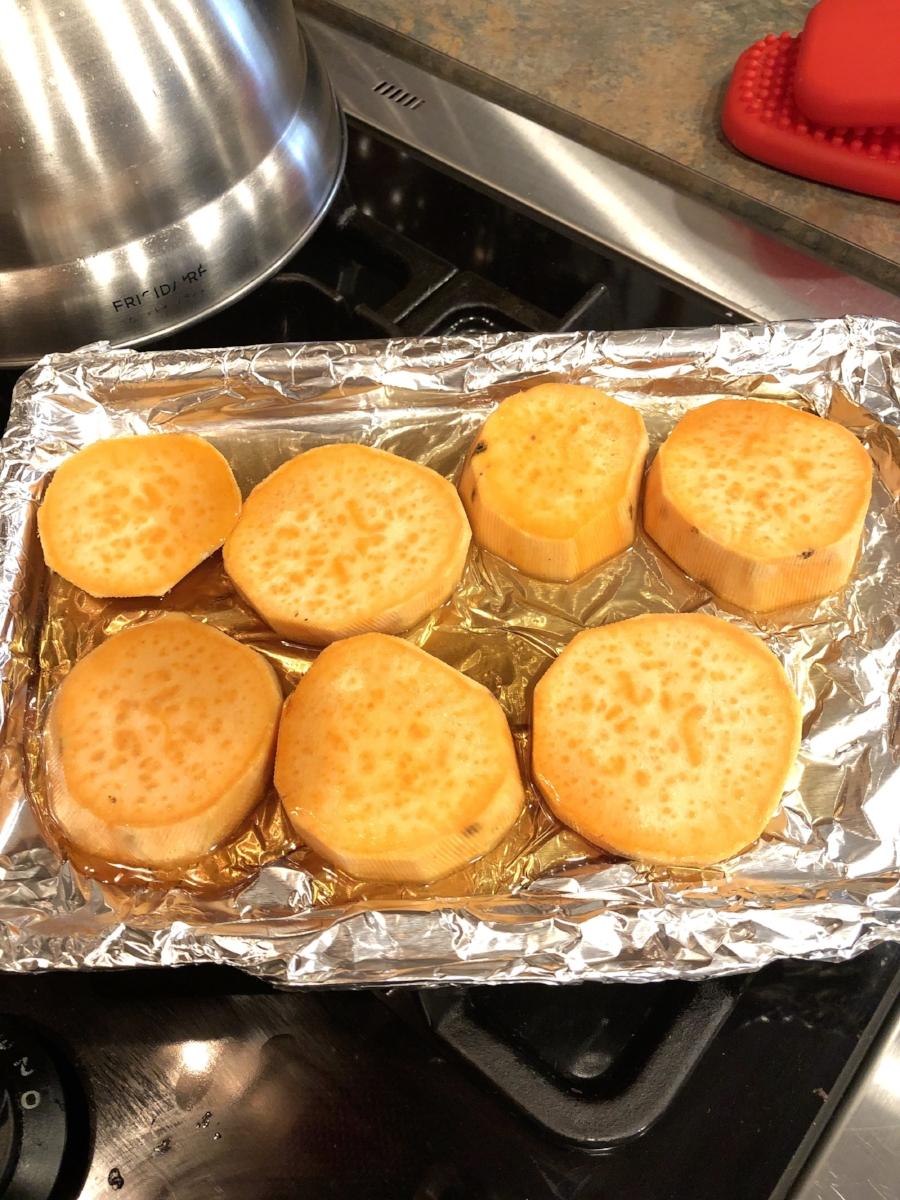 Candied Sweet Potato Bites