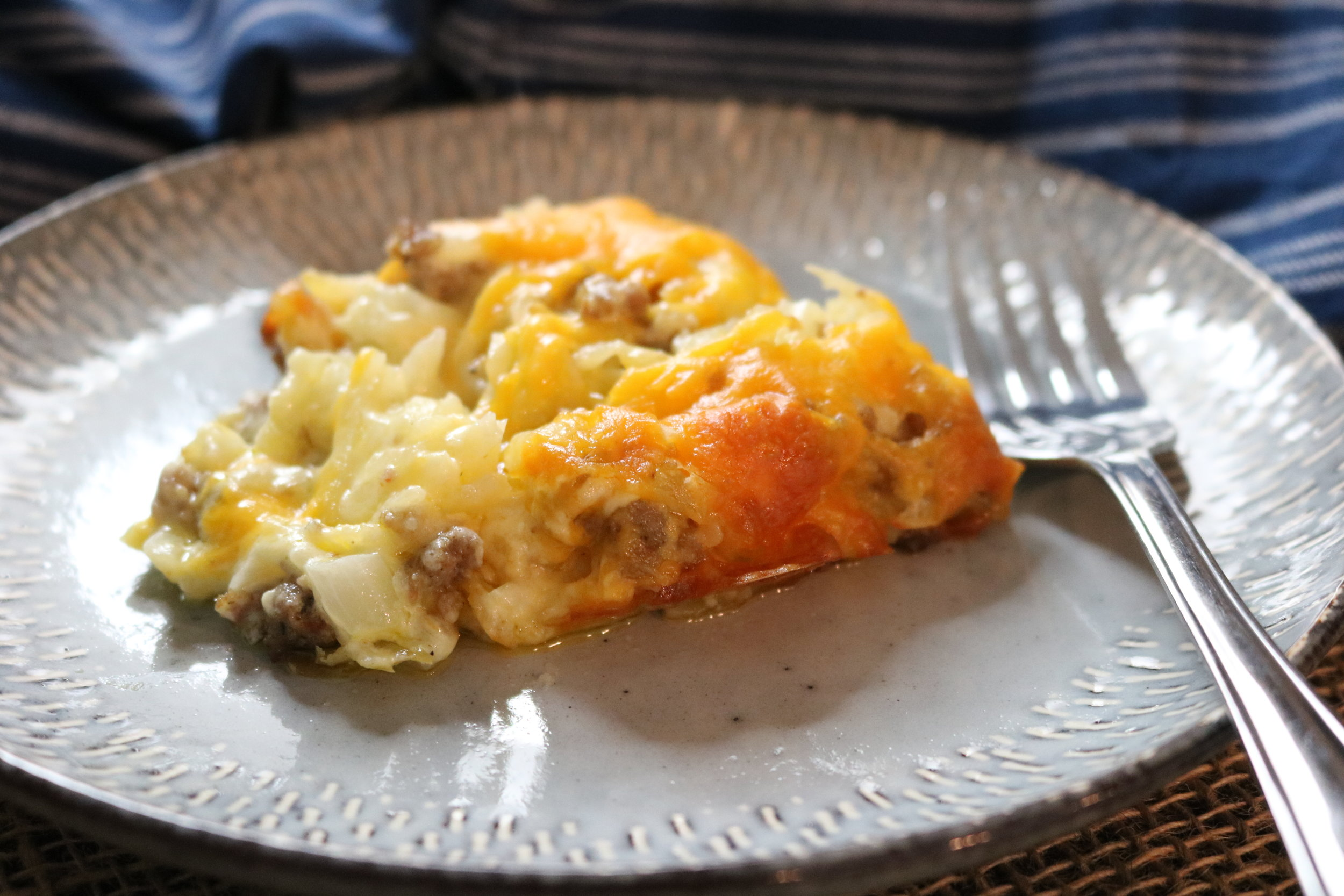 Hashbrown and Sausage Casserole