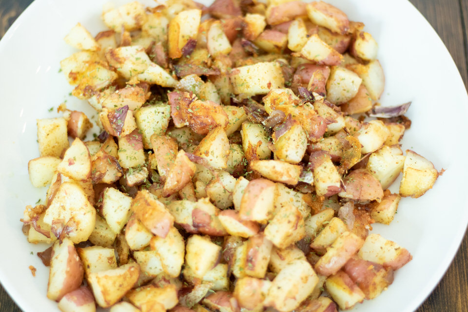 Crispy Roasted Old Bay Potatoes