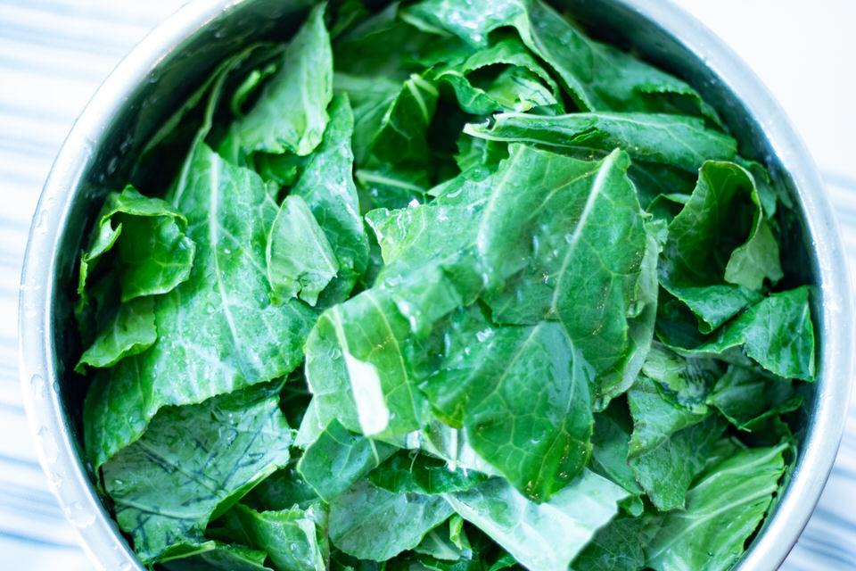 Collard Green in the Instant Pot
