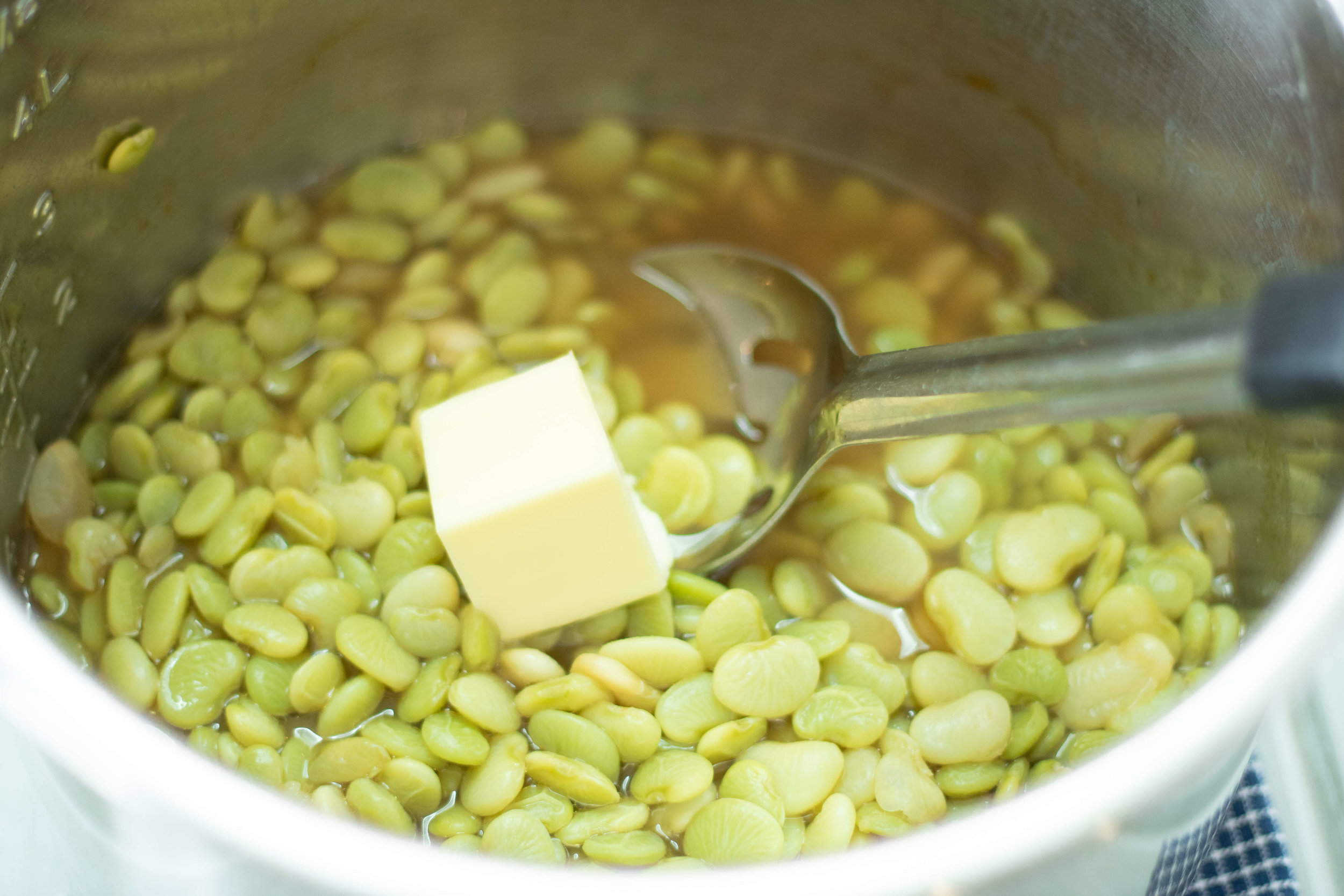 Butter Beans in the Instant Pot