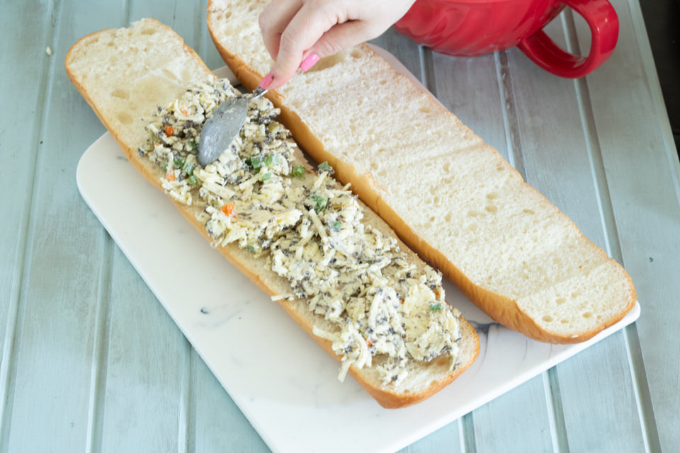 Cheesy Olive Bread