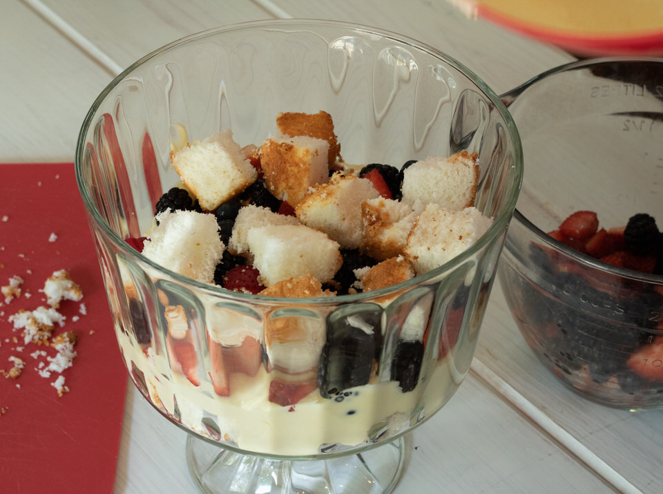 Angel Triple Berry Trifle