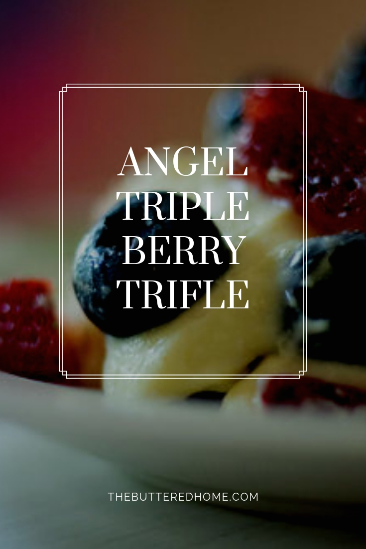 Angel Triple Berry Trifle takes the best berries summer has to offer and makes them into this creamy, beautiful dessert. Fast and easy, delicious and beautiful.
