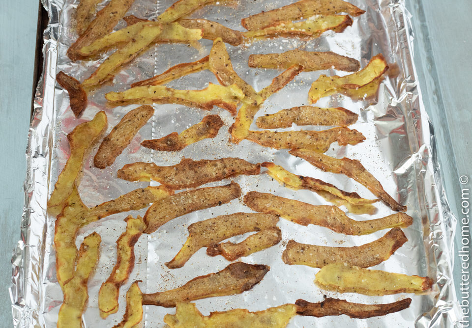 Easy Potato Peel Chips