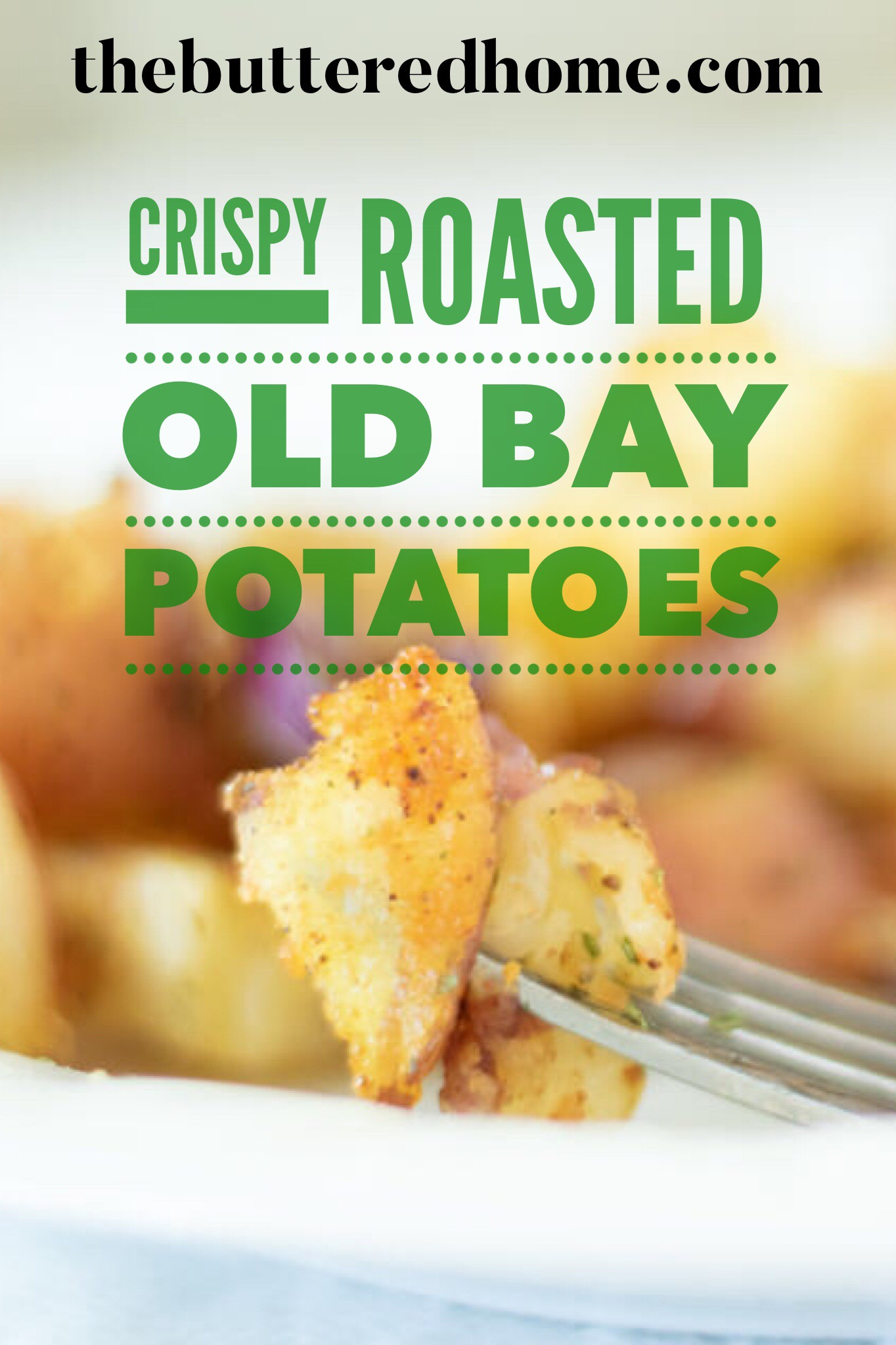 roasted old bay potatoes