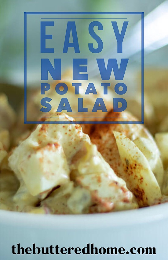easy new potato salad